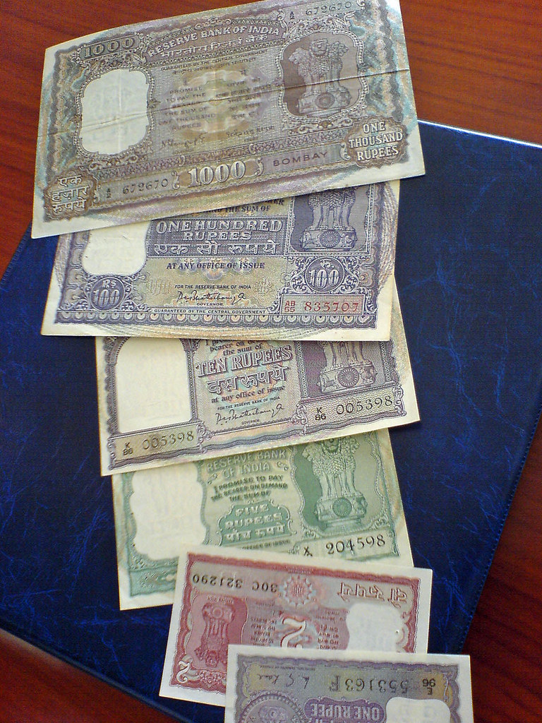 Old Bahraini Currency (Indian Rupees) | From the excellent c… | Flickr