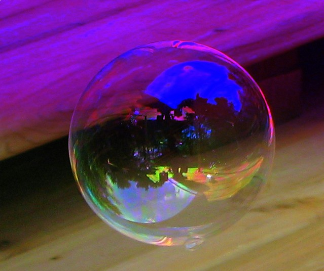 Reflections on a Bubble