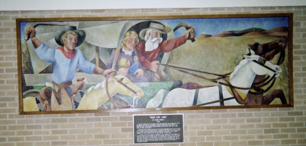 Clinton, Oklahoma Mural