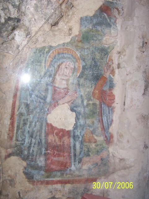 Raffigurazione nel Santuario della Madonna della Stella