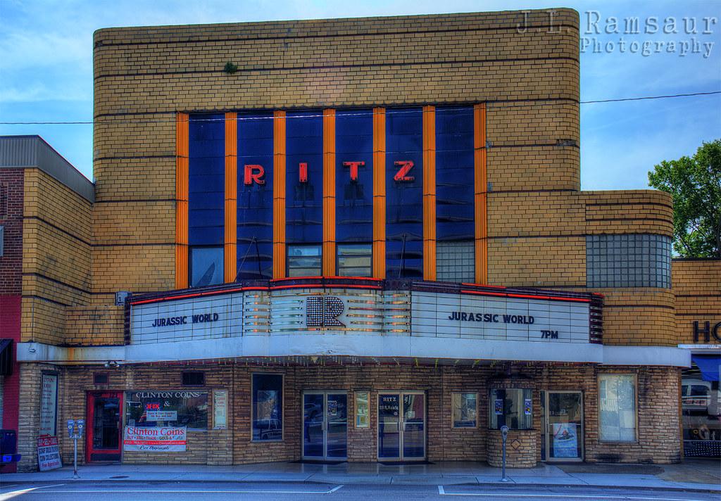 Ritz Theater - Clinton, TN | The Ritz Theatre is located on