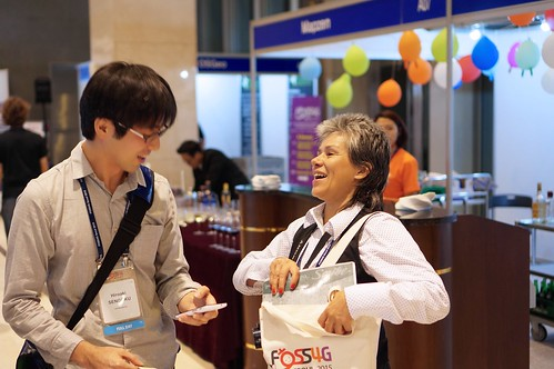 Laughter at FOSS4G | by jodygarnett
