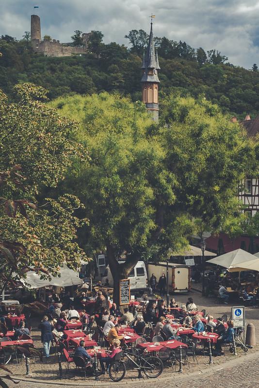 Marktplatz in Weinheim