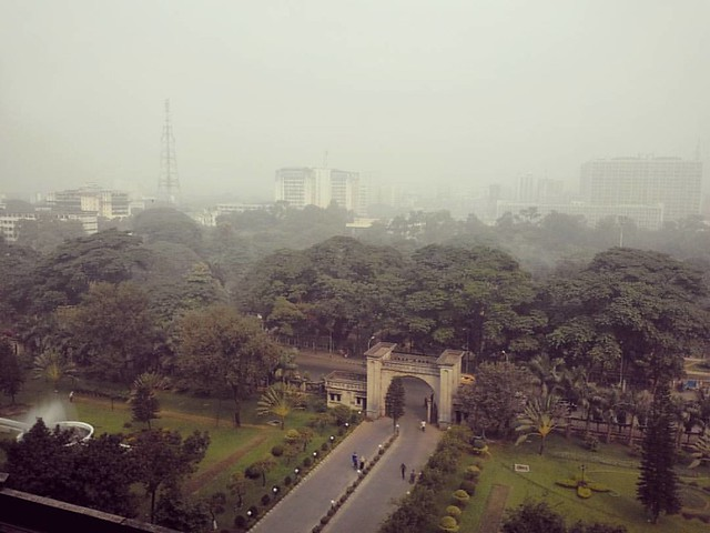 Dhaka City From DCC South Head Office