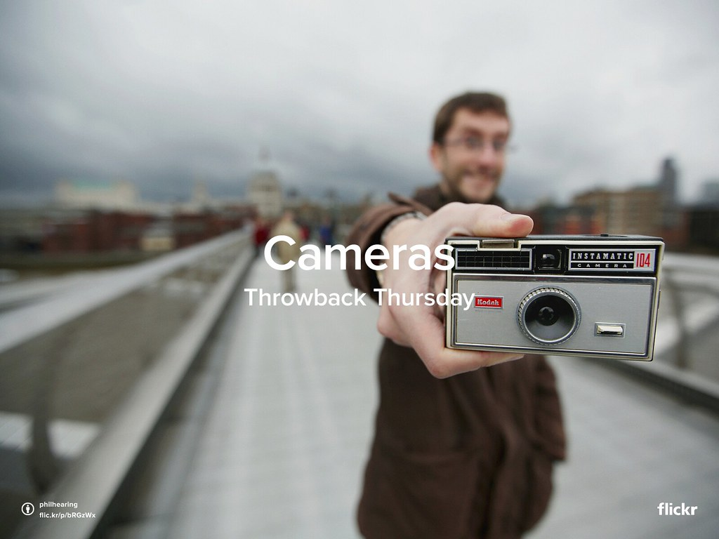 ThrowbackThursday: Cameras