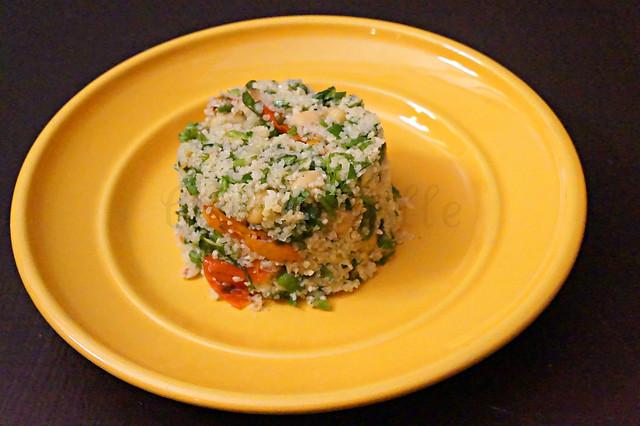 Bulgur Chickpea Salad -edit
