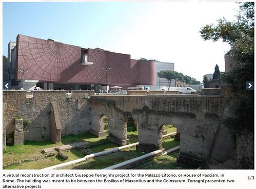 ROMA ARCHEOLOGICA & RESTAURO ARCHITETTURA: ROME - VIA DELL' IMPERO (1932-33): Italy's Fascist-era visionary Terragni's architectural drawings re-created through technology, ITALY 24 | Il Sole 24 ORE (22|10|2015).