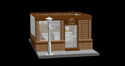 MOC Bakery and Florist Shop | by BaraBee