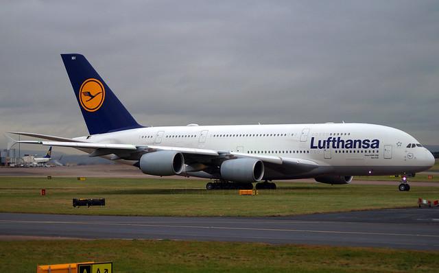 Lufthansa A380-841 D-AIMH. 03/01/17.