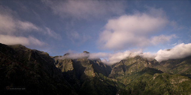 The High Peaks of Madeira...