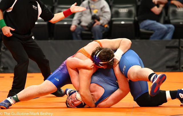 285A - 5th Place Match - Josh Hansen (Canby) 36-9 won by fall over Jett Saewert (New York Mills) 28-9 (Fall 3:56)