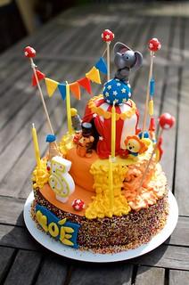 Gâteau d'anniversaire Noé