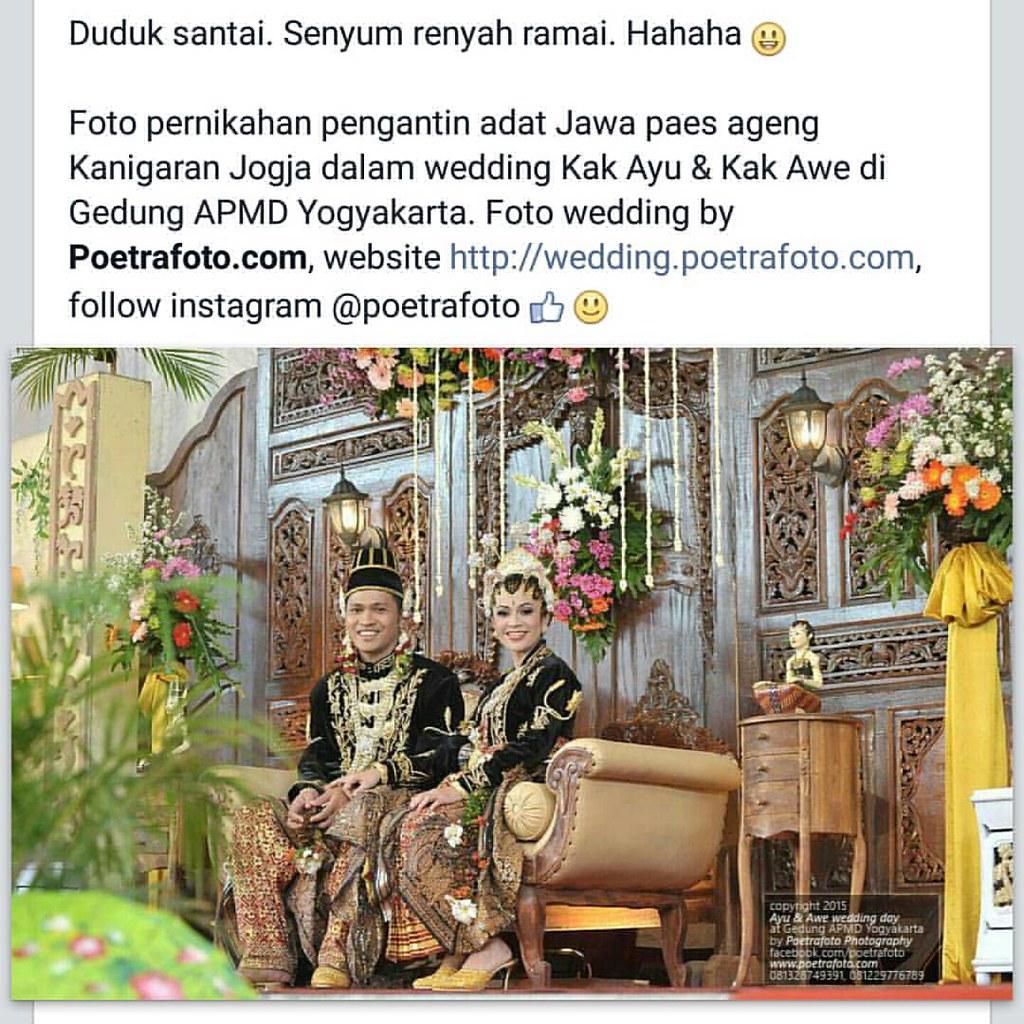 Foto pernikahan pengantin adat Jawa dg baju pengantin paes  Flickr
