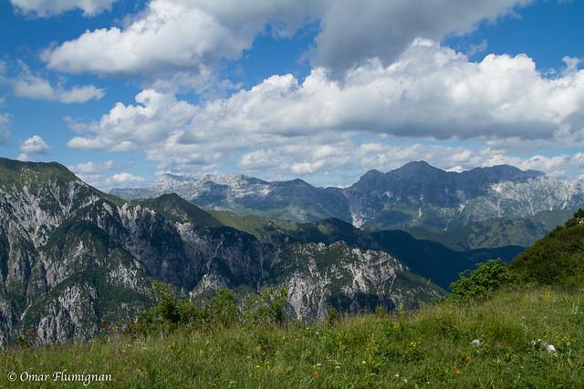 Jof di Montasio. Montasio's Mountains.