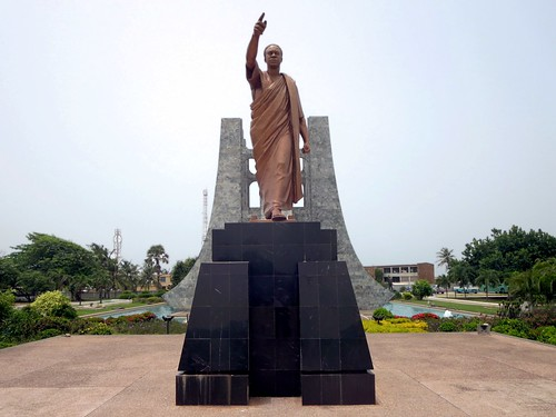 Kwame Nkrumah Statue | by D-Stanley