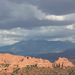 La Salle Mountains in the distance, Arches