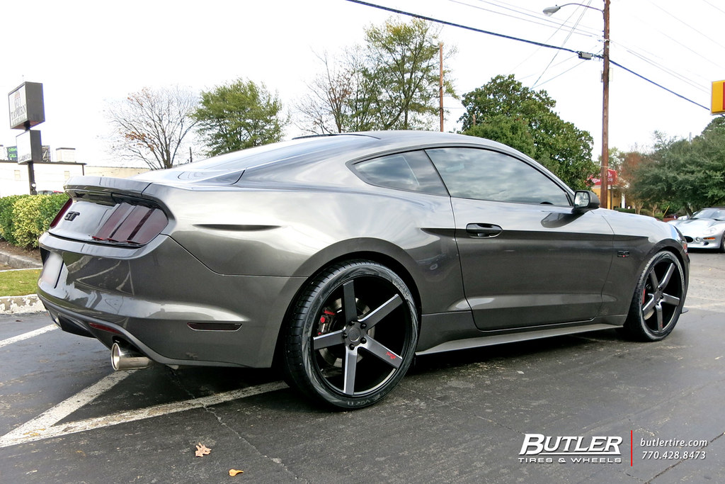 Niche Wheels Mustang >> Ford Mustang With 20in Niche Milan Wheels And Vredestein T