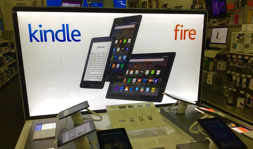 Kindle Fire, Best Buy, 11/2015, pic by Mike Mozart of TheToyChannel and JeepersMedia on YouTube #Kindle #Fire | by JeepersMedia