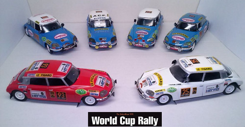 TEAM CITROËN World Cup Rally 1970