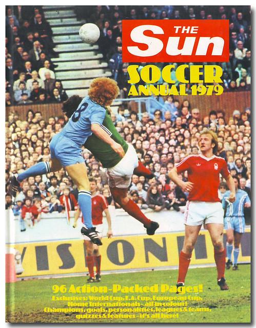 Book Cover Sun Soccer Annual 1979