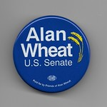 Alan Wheat for U.S. Senate Missouri Campaign Button