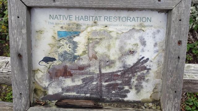 Native habitat restoration