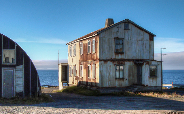 Derelict farmhouse; north-east Iceland.