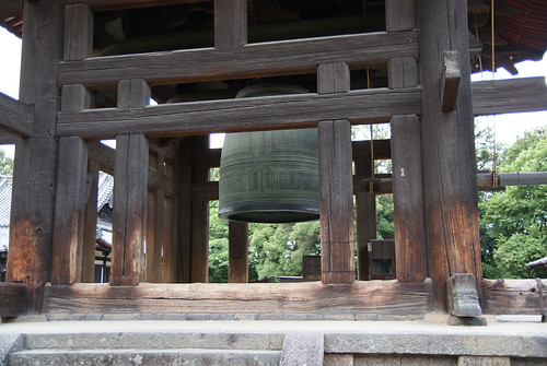 The belfry of Kusaga Taisha in Nara | by tctyin
