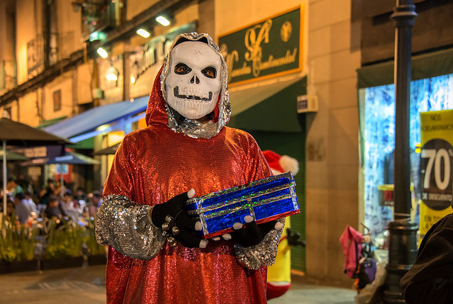 Skeletor Santa, Mexico City
