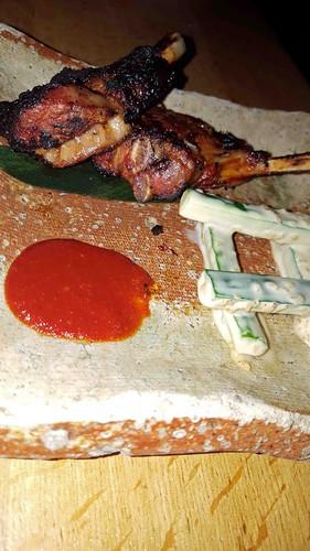 Dinner at ROKA - Lamb Chops (Medium)   by damselinlondon
