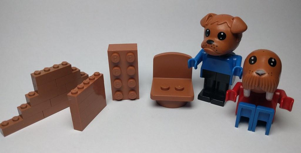 Brick Redfabuland Brownterracotta Parts Terracotta Modul Flickr