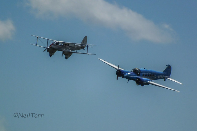 de Havilland Dragon Rapide and Avro Anson