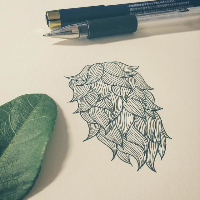 In progress #beard #illustration #instart #instaink #instacool #instagood #instadaily #instalike #instaphoto #instadesign