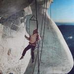 Mount Rushmore - oude foto van constructie