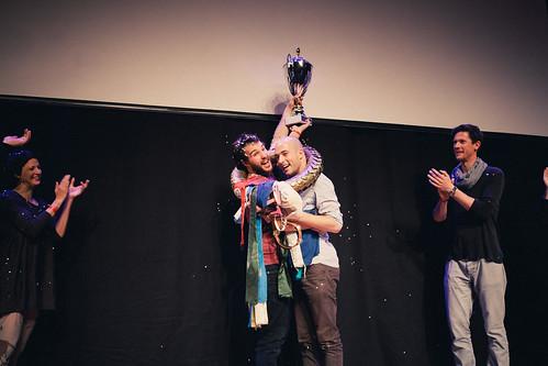 Teamfinale Sieger Interrobang (Valerio Moser & Manuel Diener) | by slamaugsburg2015