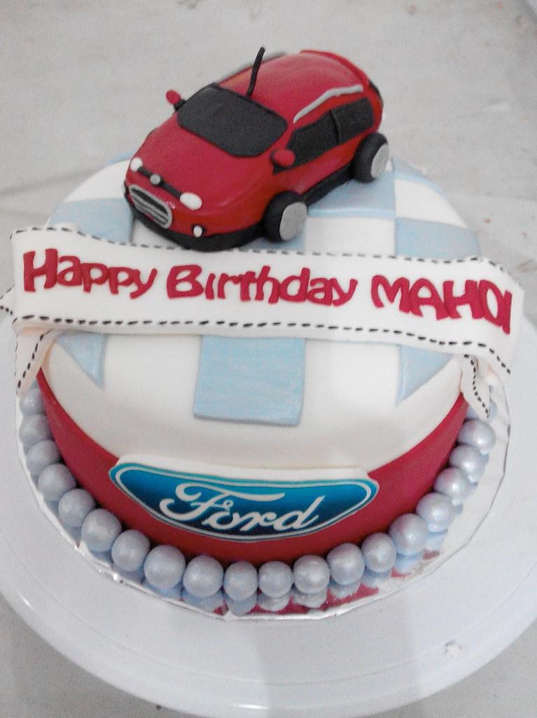 Kue Ulang Tahun Mobil Ford Jakarta A Photo On Flickriver