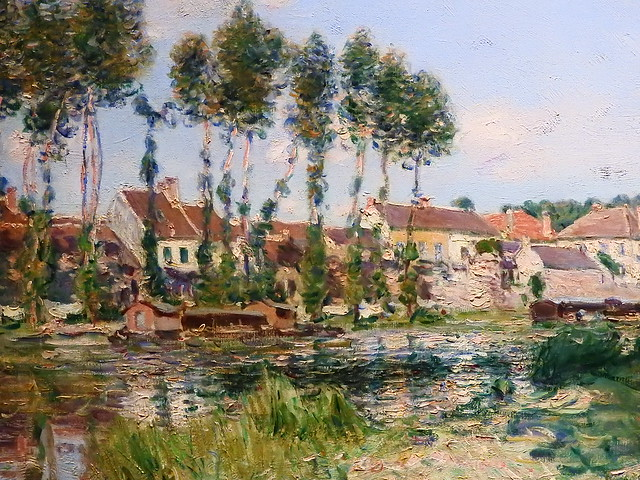SISLEY Alfred,1892 - Moret, Bords du Loing (Orsay) - Detail 06
