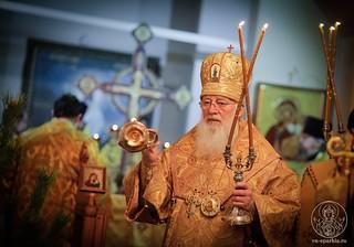 Литургия в храме Дмитрия Солунского 120