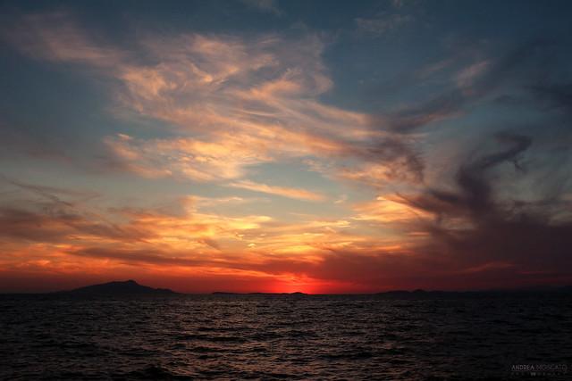 Ischia Silhouette - Golfo di Napoli (Italy)