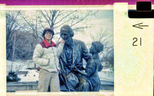 Me Dissing John Ball c1982