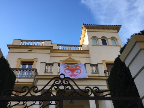 Our (temporary) Barcelona mansion