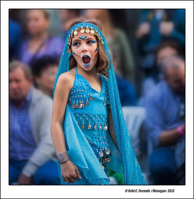Girl in blue dress (València, 9 d'octubre 2015)