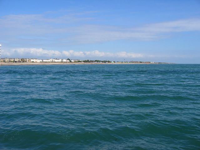 Littlehampton from the west beach