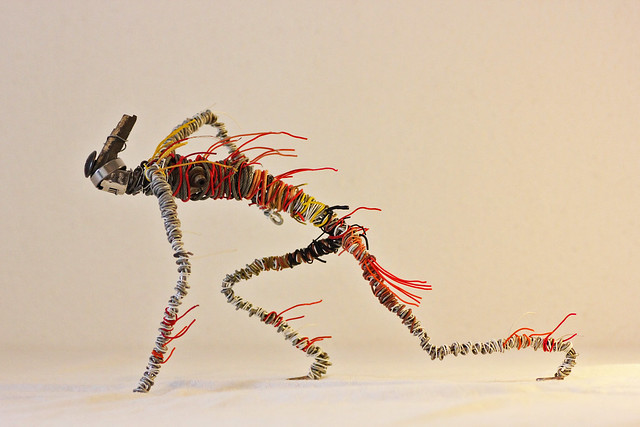 Upcycling sculpture