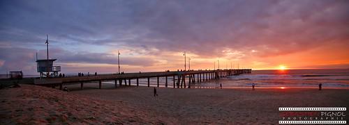 venice beach sunset losangeles la usa california californie us canon 6d pignol sebastien trip travel holiday voyage sun cloud sea pacific ocean pier