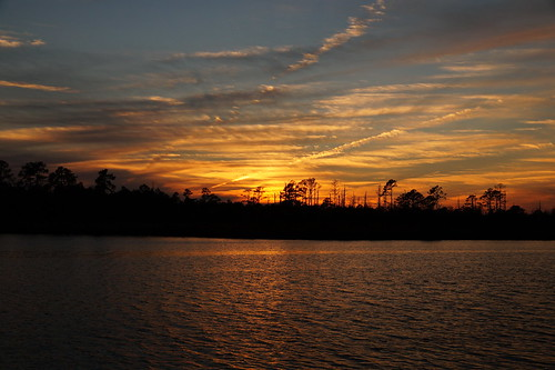 sunset spectacularsunsetsandsunrises cloudsstormssunsetssunrises contrails sky northwestcreek creek fairfieldharbour northcarolina sonyphotographing sonya58 sony