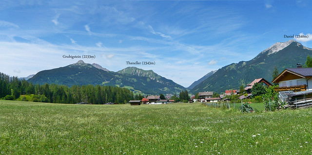 Ehrwald valley panorama view (1180962)