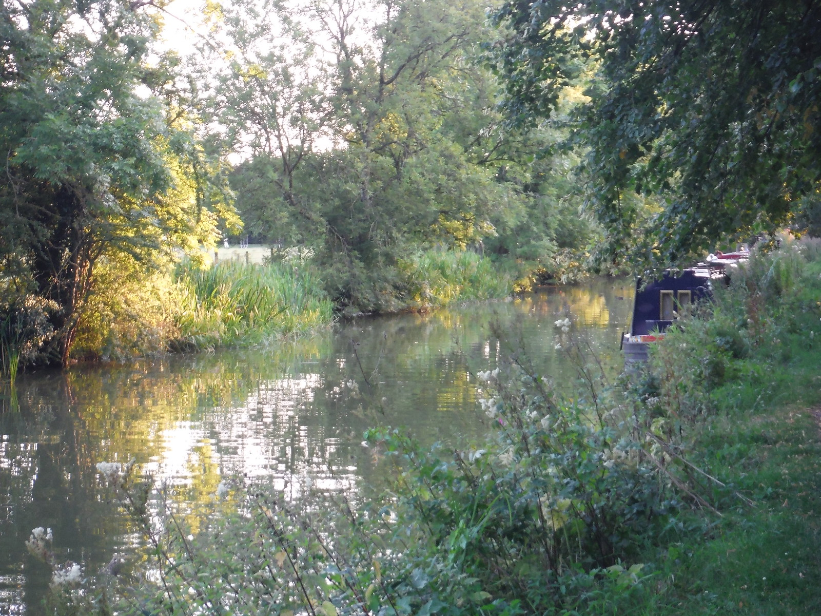 Kennet & Avon Canal, near Wilcot SWC Walk 255 Pewsey or Marlborough Circular via Avebury