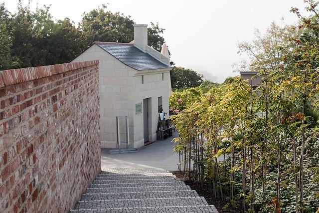 Havelberg, BUGA 2015: Rebhäuschen, ein Geschenk der Partnerstadt Saumur (Frankreich) aus dem Jahr 2014