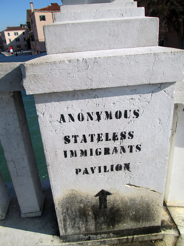 anonymous stateless immigrants pavilion | by Rob React